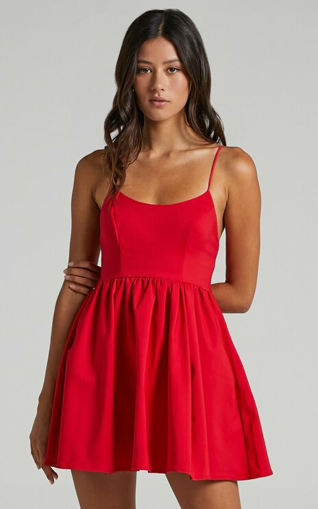 You Got Nothing To Prove Dress in Red