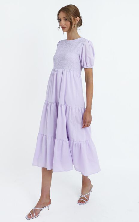 Lorrie Dress in Lilac