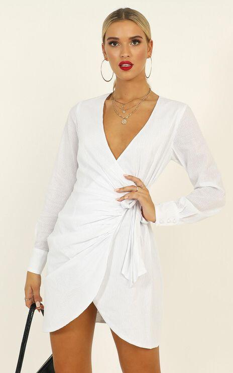 Cruising Around Dress In White