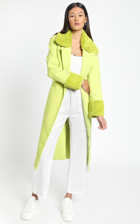 Manhattan Mornings Coat in Green