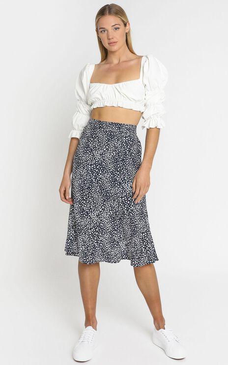 Alegra Skirt in Navy