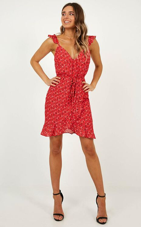 Summer Tale Dress In Red