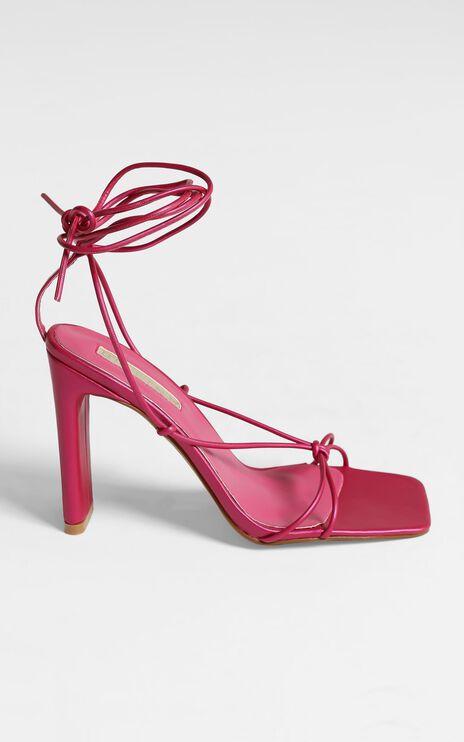 Billini - Clarissa Block Heels in Pink