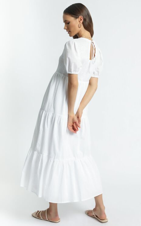 Lorrie Dress in White