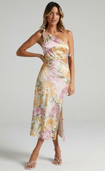 Glaucus Dress in Elegant Rose