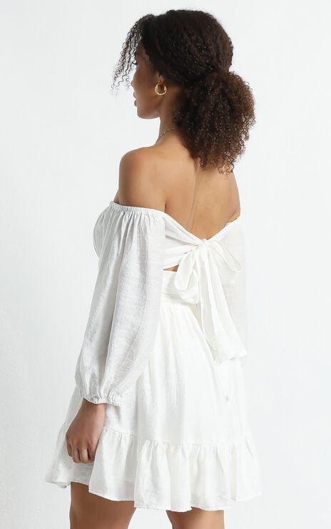 Mandi Dress in White