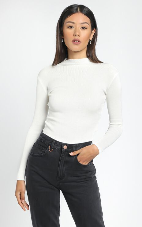 Lust For Life Knit Top In White