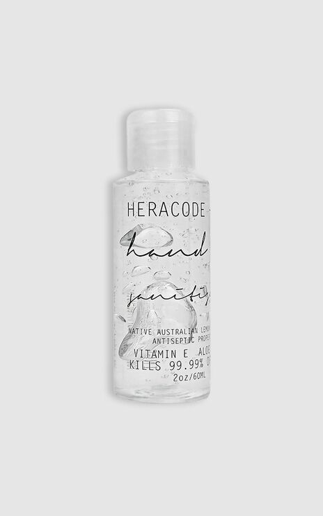Heracode + Co - Small Organic Gel Hand Sanitiser