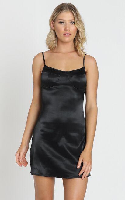 Charlotte Dress in black - 8 (S), Black, hi-res image number null