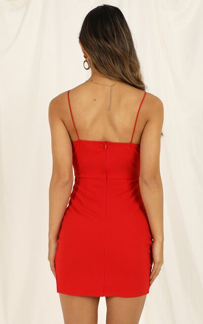 My Whole Heart dress in red - 16 (XXL), Red, hi-res image number null
