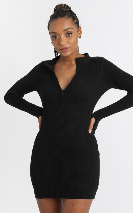 Malone Dress in Black