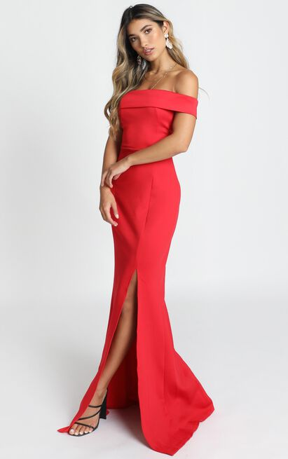 We Got This Feeling Dress in red - 20 (XXXXL), Red, hi-res image number null