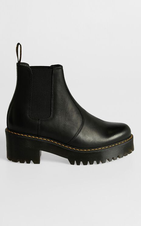 Dr. Martens - Rometty Chelsea Boot in Black Wyoming