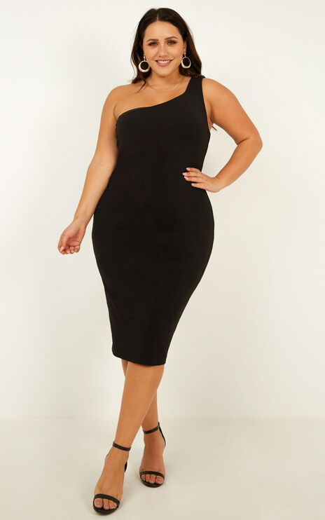 Got Me Looking Dress in Black