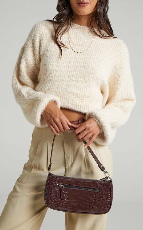 Elle Woods Knit Jumper in Almond