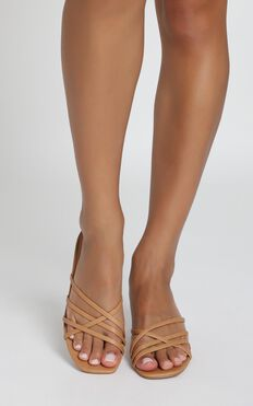 Billini - Zalia Heels In Camel-Natural