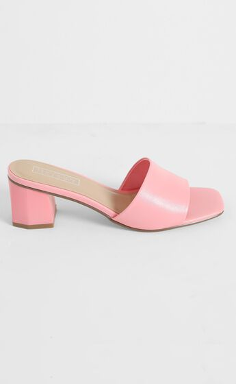 Therapy - Nyla Heels in Pink