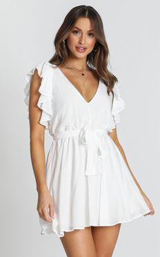 Rosalie Dress In White