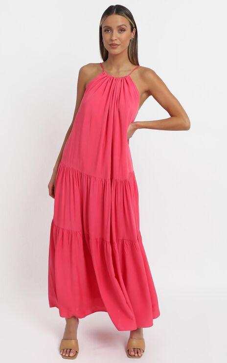 Pyper Dress in Hot Pink