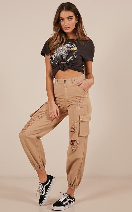 Highest Point Pants In Beige