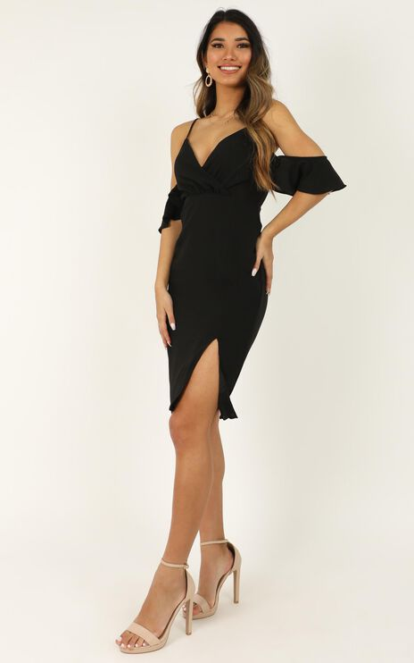 When I Fall in Love Dress In Black