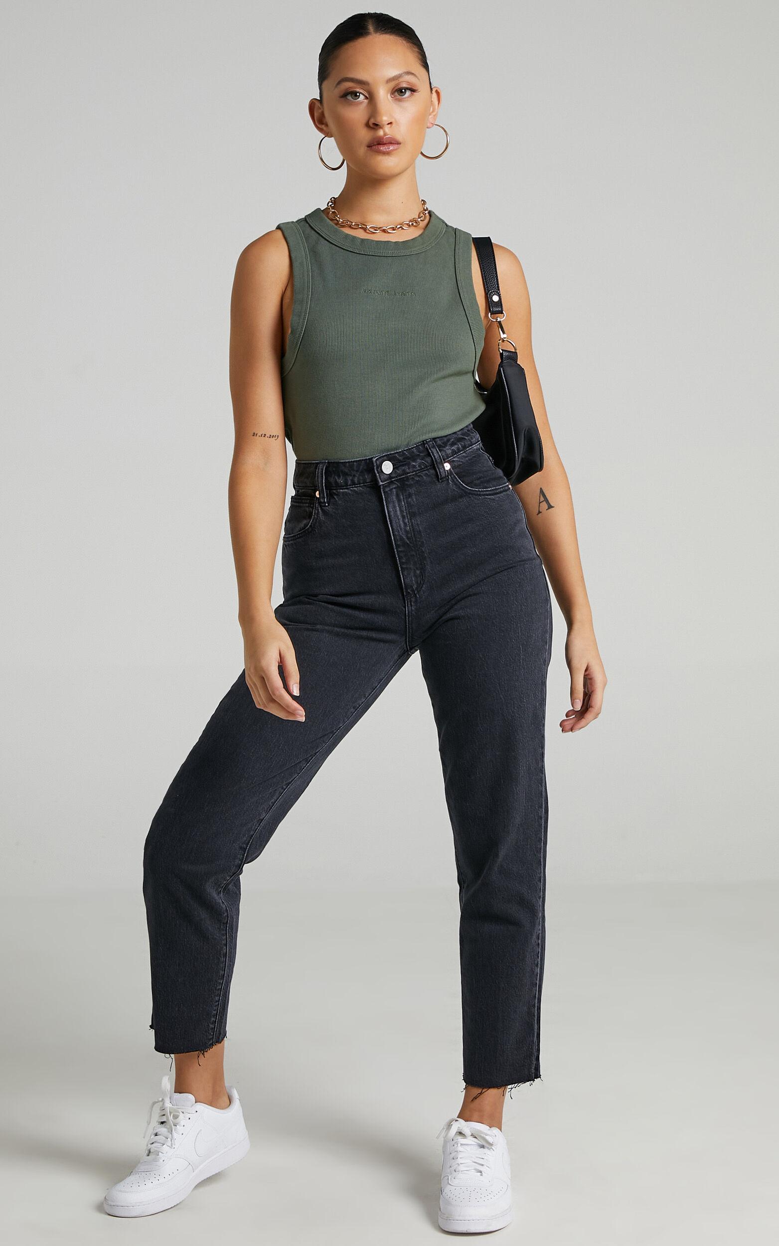 Abrand - A 94 High Slim Jean in Charo Black - 06, BLK1, super-hi-res image number null
