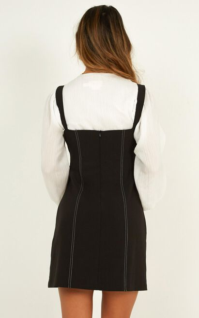 Lightning Fast Dress in black - 20 (XXXXL), Black, hi-res image number null