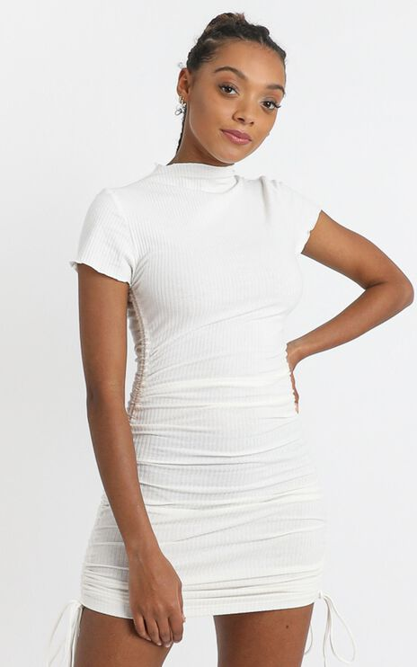 Dalia Dress in White