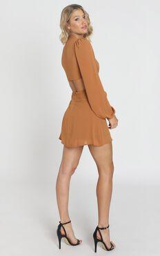 Erika Dress In Ginger