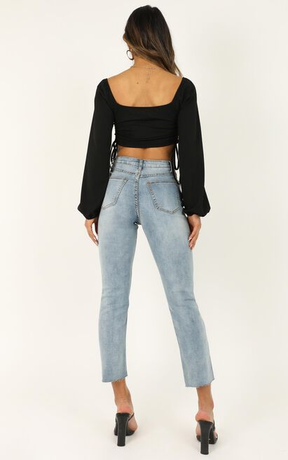 Lois jeans In bright blue wash - 16 (XXL), Blue, hi-res image number null