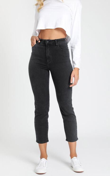 Abrand - A '94 High Slim Jeans in 90210 Black