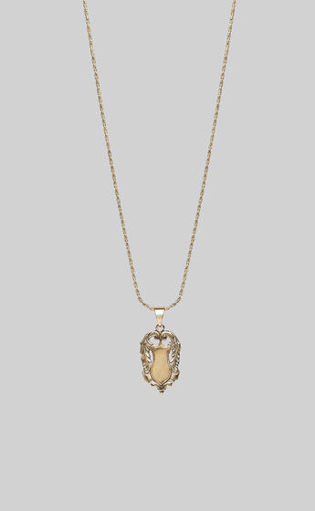 KITTE - AMULET NECKLACE in Gold