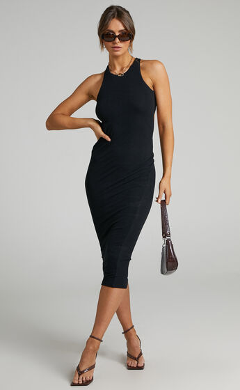 Lioness - The Clare Dress in Black