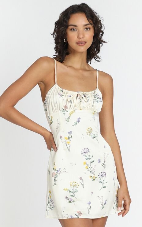 Ive Got You Now Dress in Botanical Floral