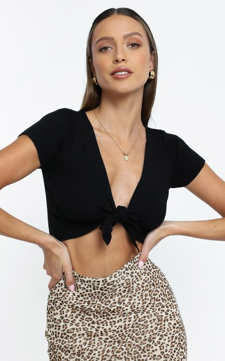 Presley Top in Black