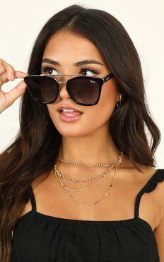 Quay - Sweet Dreams Sunglasses In Black