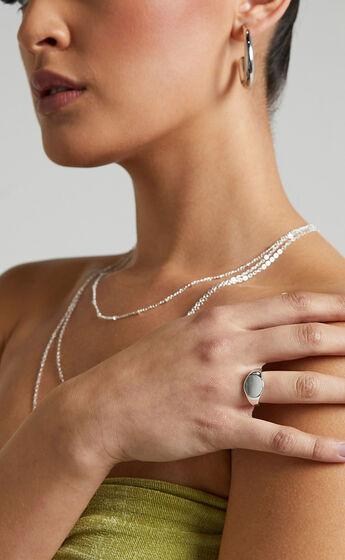 Ottie Ring in Silver