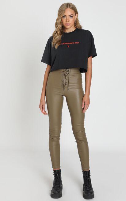 Quick Question Pants in khaki - 20 (XXXXL), Khaki, hi-res image number null