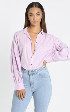 Lennon Shirt in Lilac
