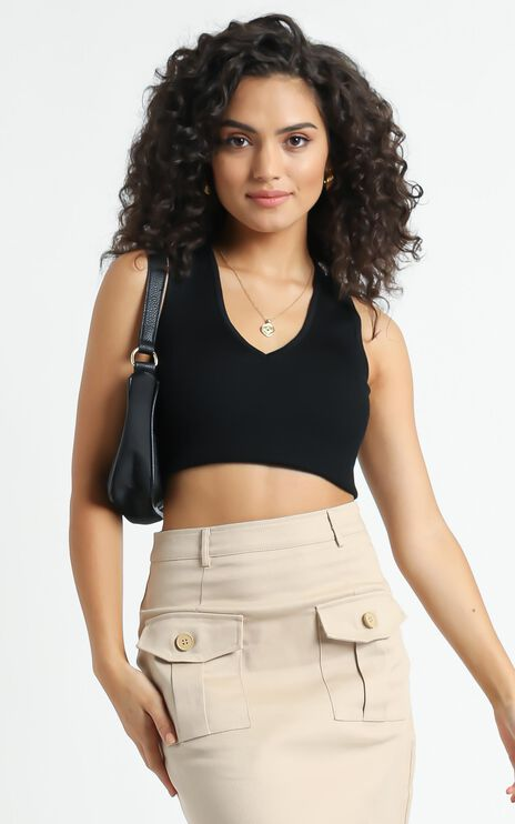 Jacquelle Top in Black