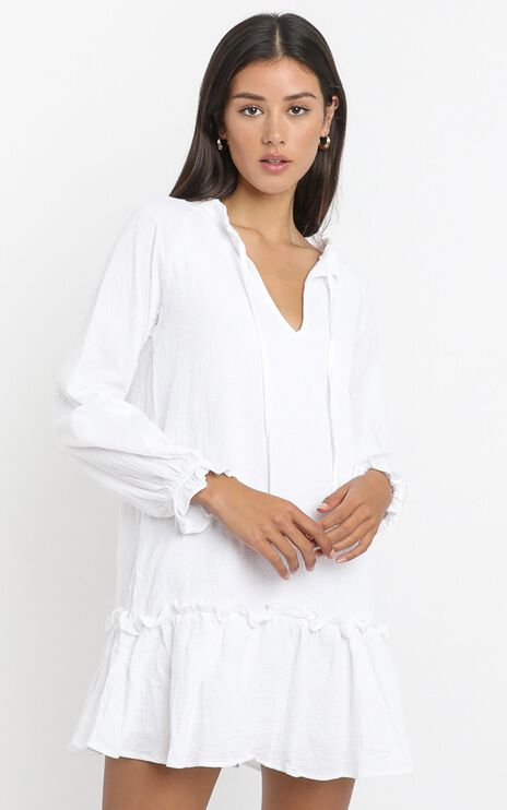 Mari Dress in White