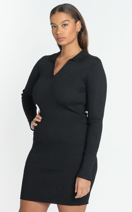 Svetlana Dress in Black