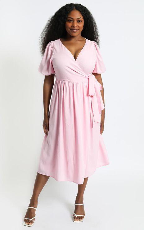 Morgandy Dress in Pink