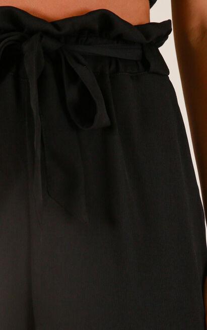 Not Holding Back pants in black - 12 (L), Black, hi-res image number null