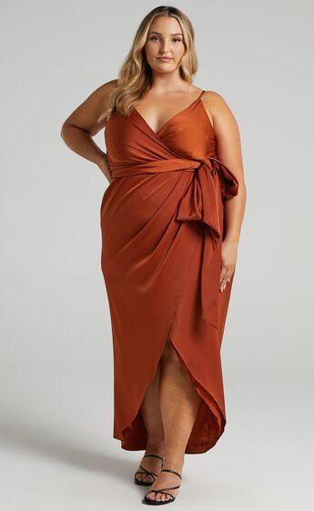 How Will I Know Dress in Copper