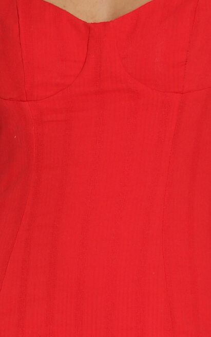 Anders Mini Dress in Red - 12 (L), Red, hi-res image number null