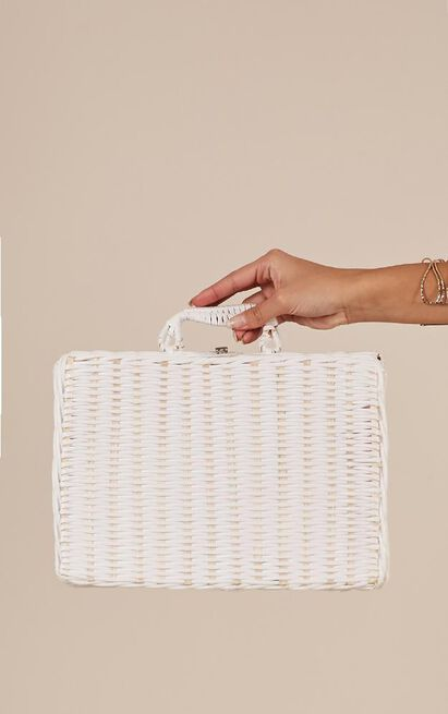 Lets Catchup Bag In White, , hi-res image number null