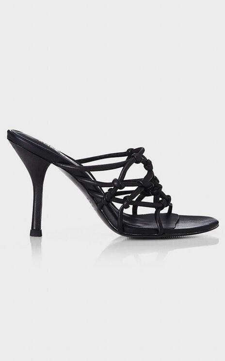 Alias Mae - Meg Heels in Black Leather
