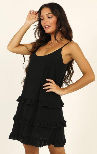 Long Reflections Dress in black - 20 (XXXXL), Black, hi-res image number null