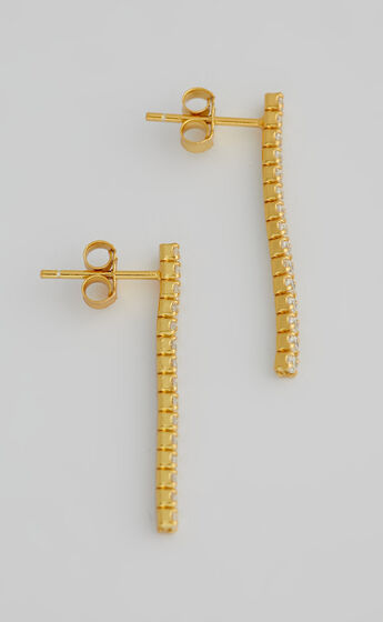 SAINT VALENTINE - PARIS DROP EARRINGS in Gold